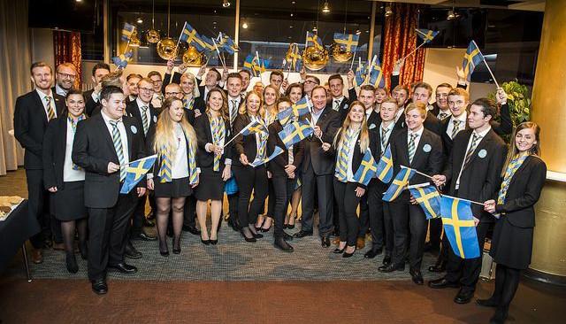 Flera svenska medaljer i Yrkes-EM