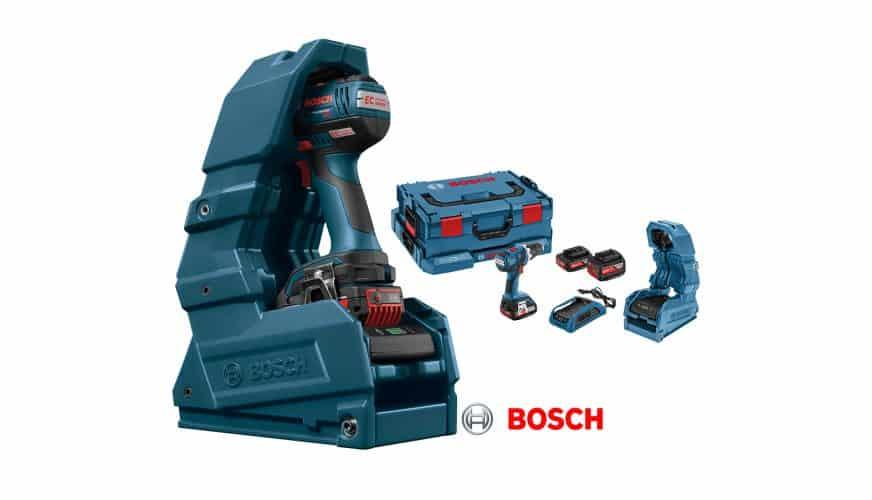Vinn en Bosch borrskruvdragare med trådlös laddning
