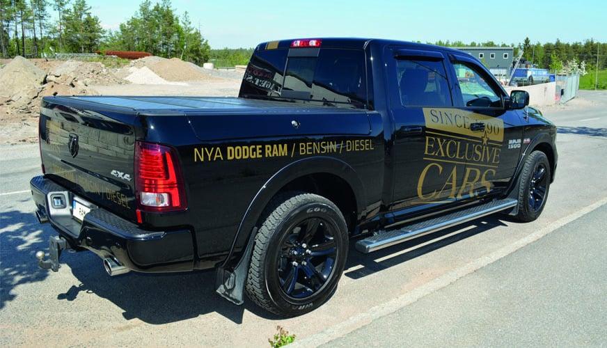 DMH provkör Dodge Ram Crew Cab