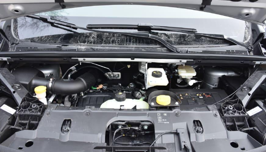 Fiat talento motorhuv