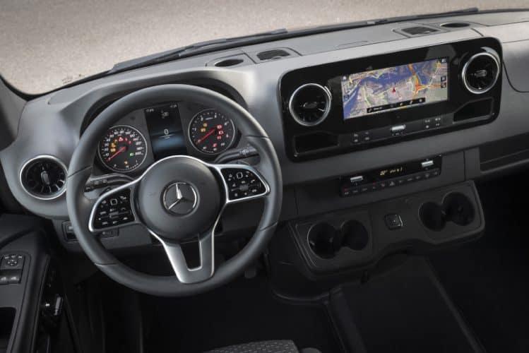 Mercedes-benz sprinter instrumentpanel