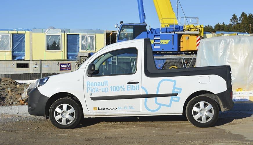DMH Provkör Renault Kangoo Z.E Picup