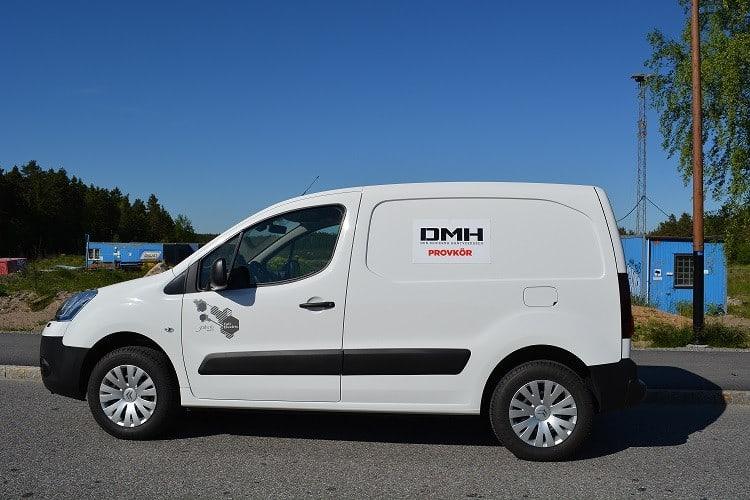 DMH Provkör Citroën Berlingo