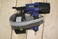 DMH testar Trallspiken Trallex & Duo-Fast CNP75K1 spikpistol