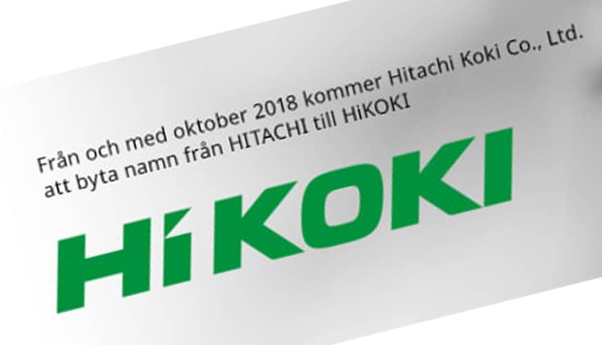 Hitachi blir HiKOKI