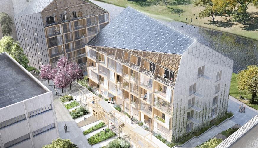 Högre och smartare – framtiden för det svenska träbyggandet