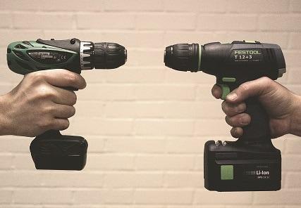 DMH testar batteridrivna skruvdragare 10,8V