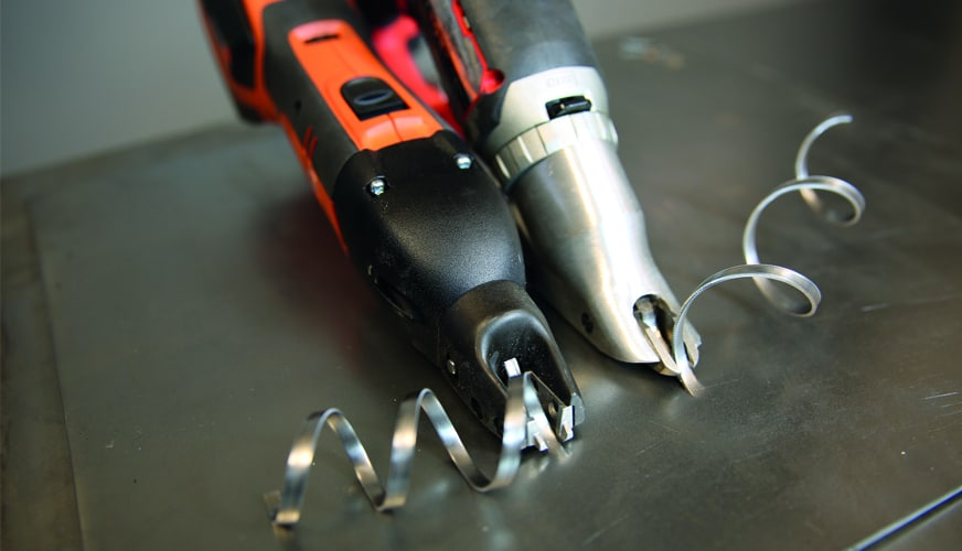 DMH testar batteridrivna universalsaxar,  slitsaxar och nibblare
