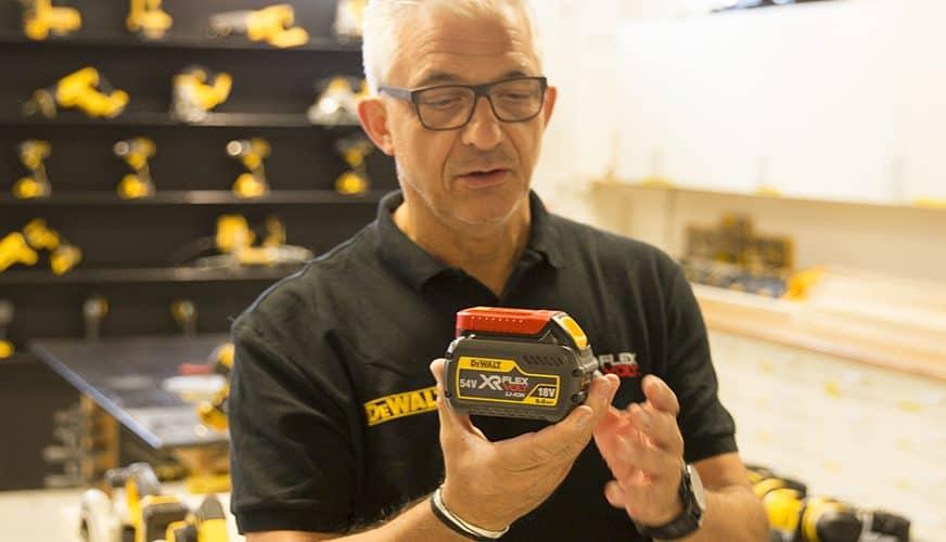 DeWalt höjer ribban för batteridrivna verktyg och maskiner!
