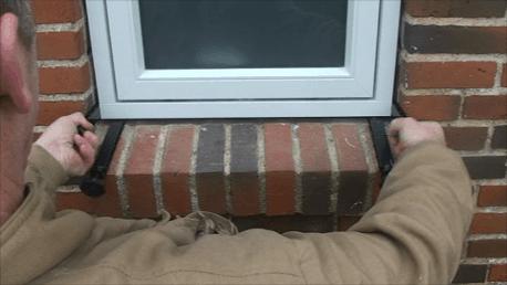 Enklare fönstermontering