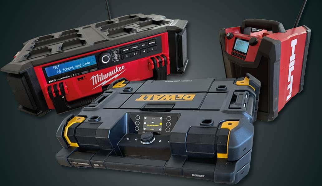 Test av byggstereos som även kan ladda dina batterier