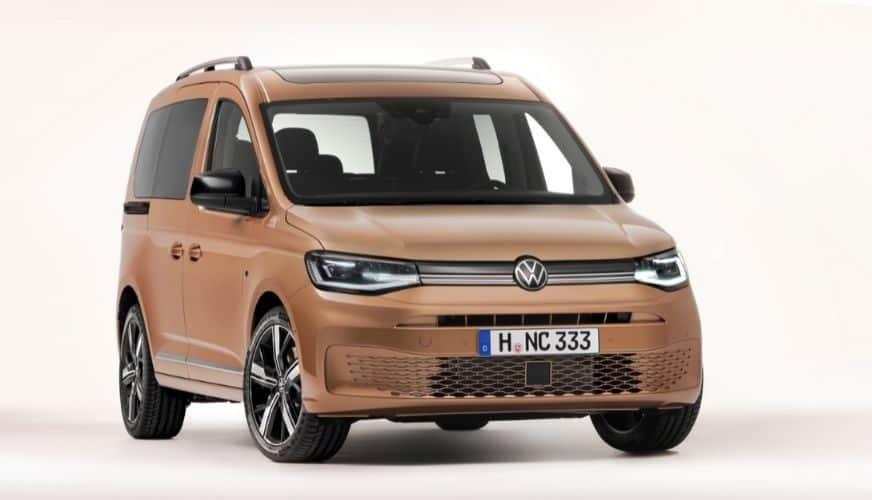 Den 5:e generationen av Volkswagen Caddy har världspremiär!