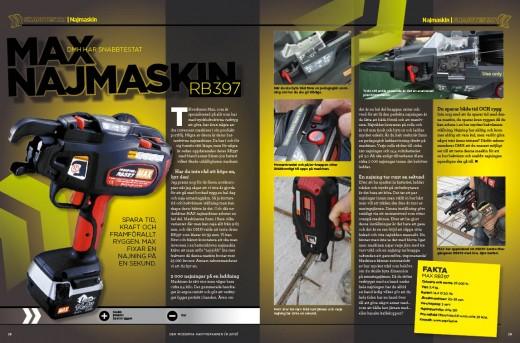 DMH testar Max najmaskin 8-2013