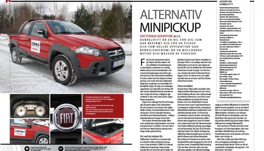 Fiat Strada adventure 4-2013