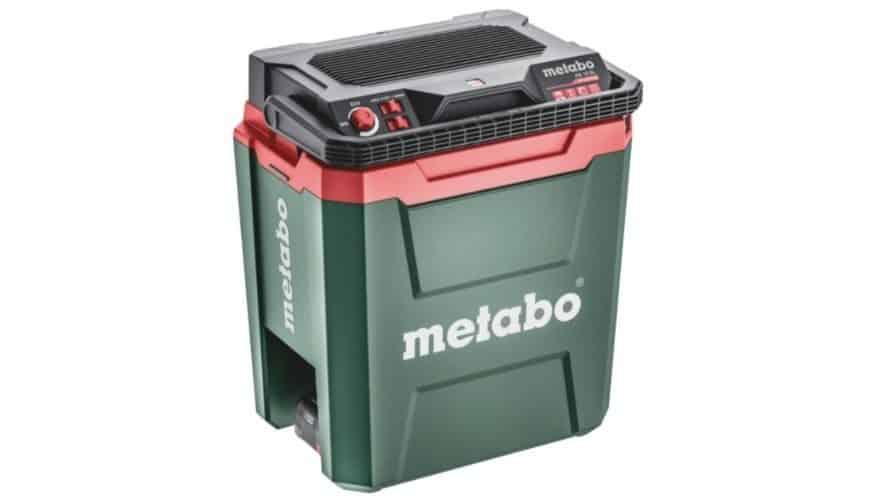 Tävla om en batteridriven kylbox med varmhållningsfunktion från Metabo