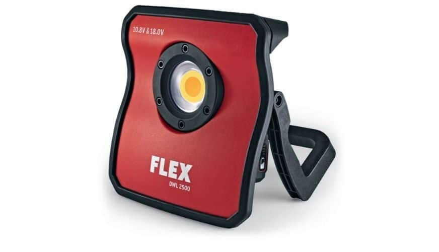 Tävla om batteridriven arbetsbelysning från Flex