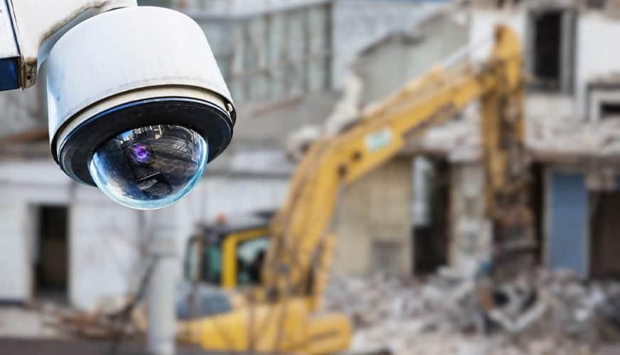 Kamerabevakning på arbetsplatsen
