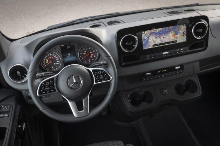 Mercedes-benz sprinter instrumentpanel