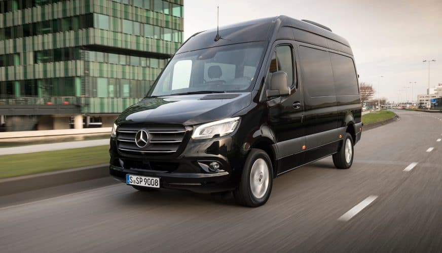 Provkört Mercedes-Benz Sprinter