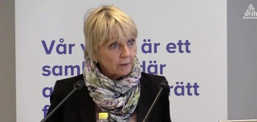 Pia Bergman är rikssamordnare för Skatteverkets insats mot grov ekonomisk brottslighet.