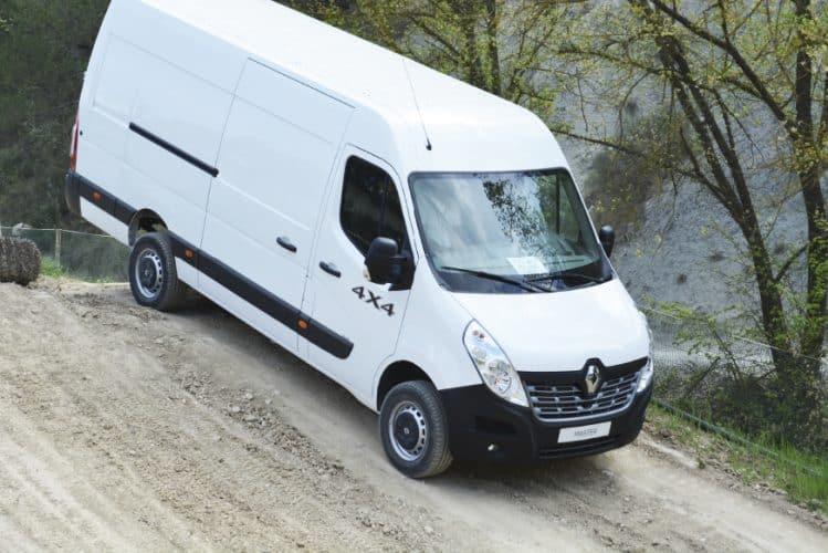 DMH Provkör Renault Master 4×4
