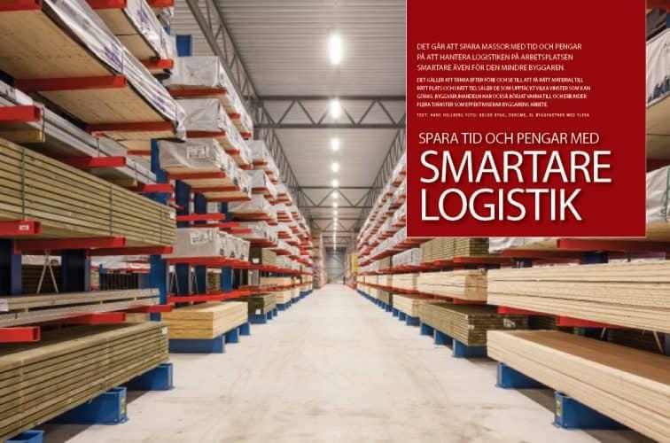 Spara tid och pengar med smartare logistik