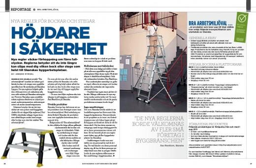 Reportage bra arbetsmiljöval 2-2012
