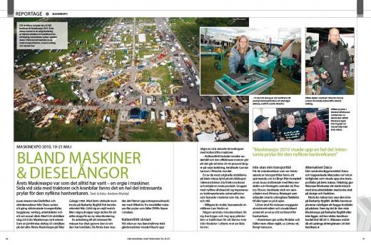 Reportage maskinexpo 6-2010