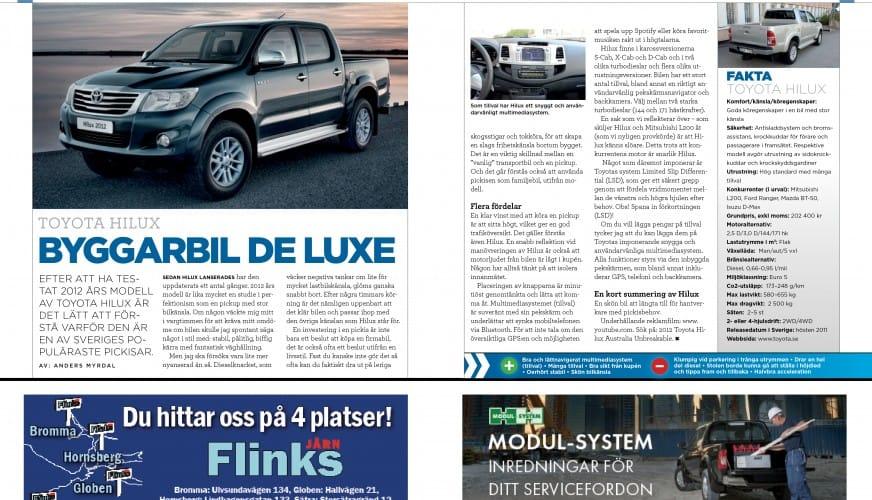 Toyota Hilux 6-2012
