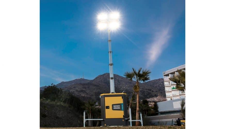 Atlas Copco lanserar ultratysta LED-belysningsmaster