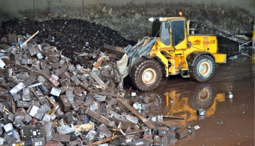 Krav att rapportera farligt avfall