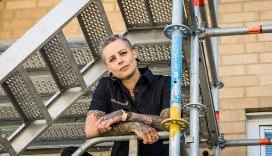 """Emmalena är """"Årets byggkvinna"""""""