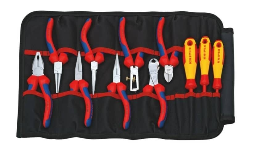 Tävla om ett verktygsetui med tänger och skruvmejslar från Knipex