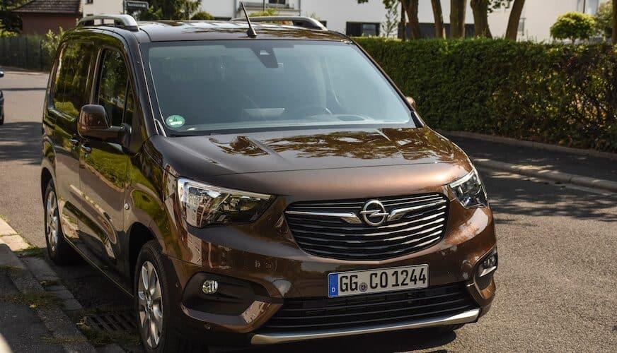 Provkört Opel Combo