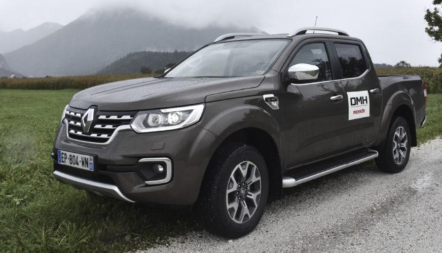 Provkört Renault Alaskan – välbyggd pickup efter tajt samarbete