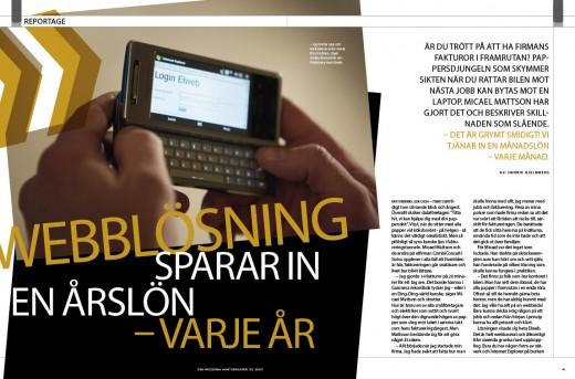 reportage webblösningar 2-2009