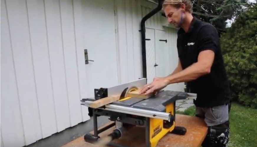 DMH testar världens första batteridrivna klyvsåg