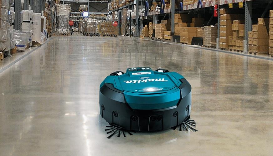 Vinn en robotdammsugare från Makita