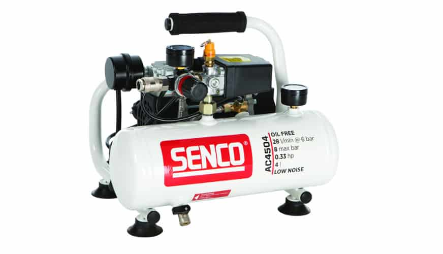 Vinn en kompressor från Senco
