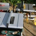Test av batteridrivna klyvsågar!