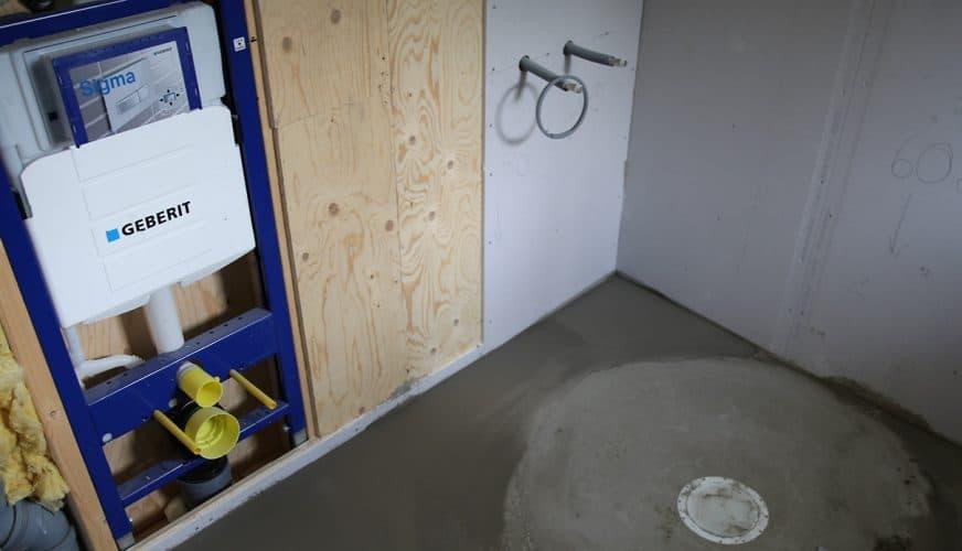 Ritning för våtrumsvägg har uppdaterats