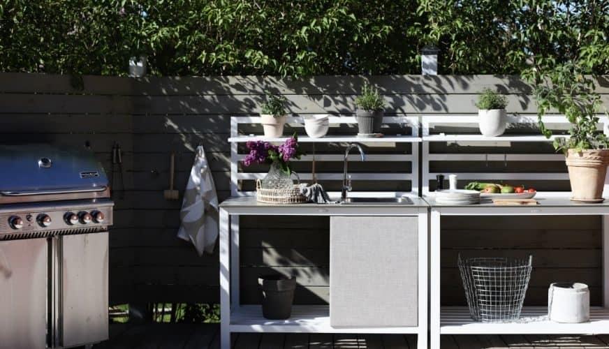 Veranda för trädgårdskock